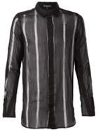 Ann Demeulemeester Sheer Transparent Shirt