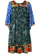 Duro Olowu Patterned Shift Dress - Multicolour