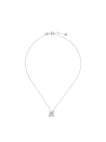 Pasquale Bruni 18kt White Gold Petit Garden Diamond Necklace - Silver