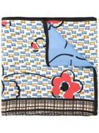 Marni Patterned Scarf - Multicolour