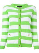 Boutique Moschino Striped Cardigan