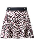 Loveless Printed Mini Skirt