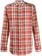 Etro Check Shirt - Red