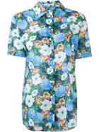 Carven Floral Print Shortsleeved Shirt