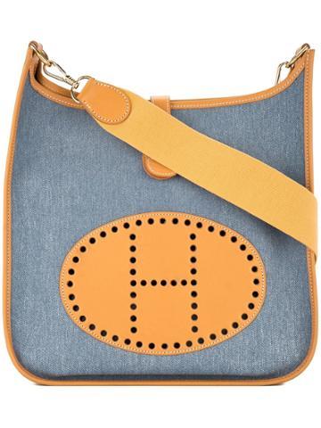 Hermès Vintage Evelyne Gm Shoulder Bag - Yellow & Orange