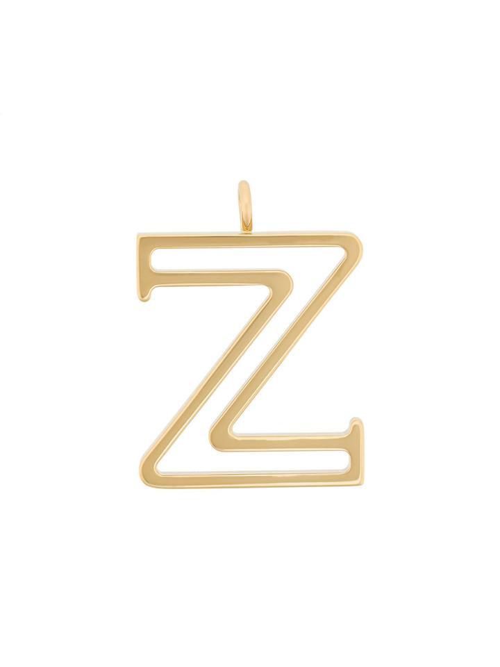 Chloé Z Pendant Necklace - Metallic