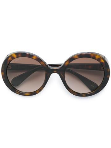 Gucci Eyewear Round Tinted Sunglasses - Brown