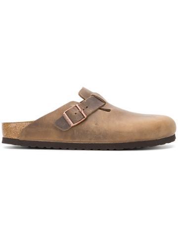 Birkenstock Classic Slip-on Shoes - Brown