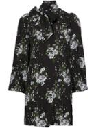 Alexander Mcqueen Floral Mini Dress