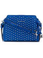 Michael Michael Kors Chic Design Crossbody Bag - Blue