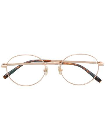 Boucheron Oval Frame Glasses - Metallic