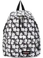 Eastpak Floral Print Backpack - Black