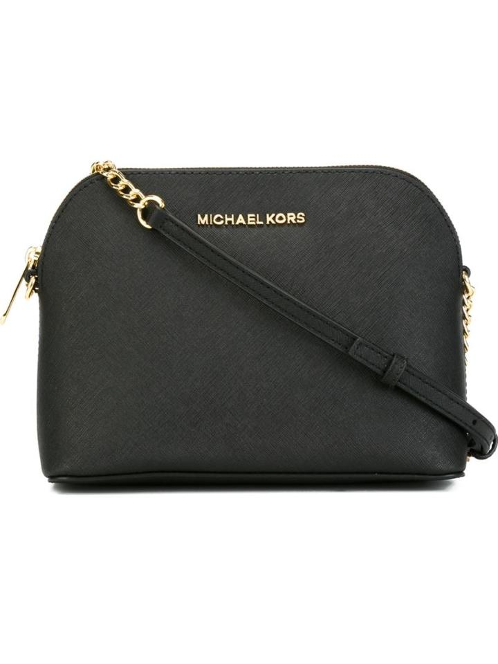 Michael Michael Kors Large 'cindy' Crossbody Bag, Women's, Black