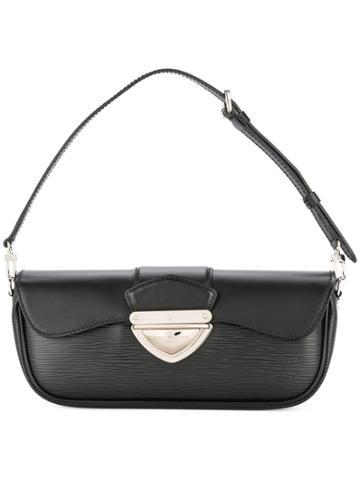 Louis Vuitton Vintage Pochette Montaigne Shoulder Bag - Black