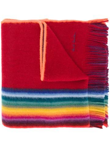 Paul Smith - Striped Scarf - Men - Virgin Wool - One Size, Virgin Wool