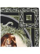 Versace Lion Print Scarf