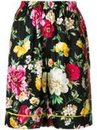 Dolce & Gabbana Floral Print Shorts - Multicolour