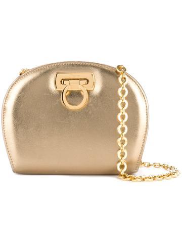Salvatore Ferragamo Vintage Gancini Chain Bag - Metallic