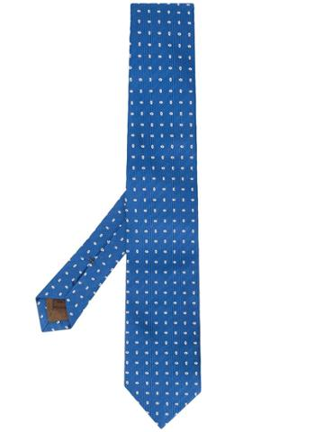 Church's All-over Pattern Tie - Blue