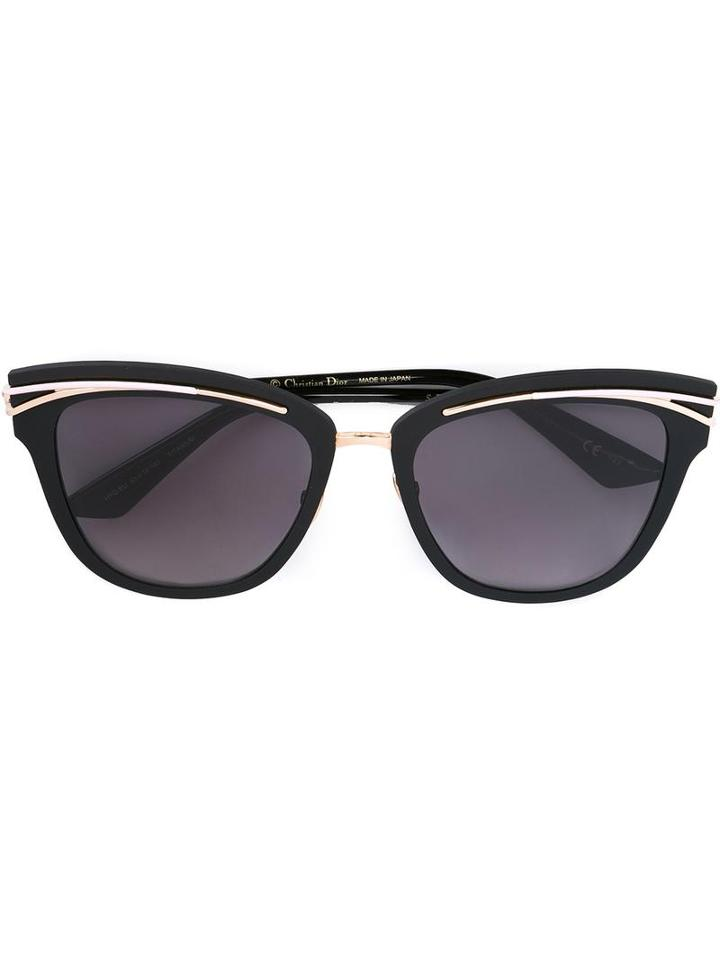 Dior Eyewear 'so Dior' Sunglasses, Women's, Black, Titanium