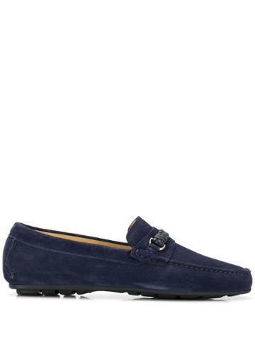 Corneliani Woven Loafers - Blue