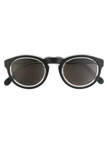 Retrosuperfuture Large 'paloma Achromatic' Sunglasses - Metallic