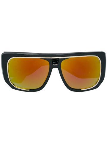 Moschino Eyewear Oversized Sunglasses - Black