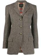 Etro Tailored Blazer - Brown