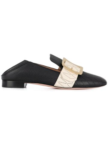 Bally Janelle Babouche Loafers - Black