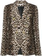 Veronica Beard Leopard Print Blazer - Neutrals