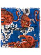Gucci Bengal Scarf - Blue