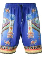 Versace Printed Swim Shorts
