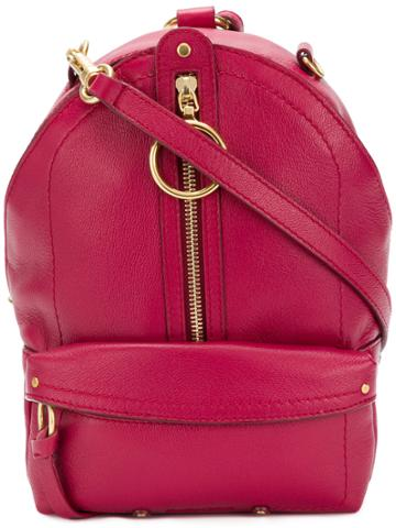 See By Chloé Mino Mini Backpack - Pink & Purple