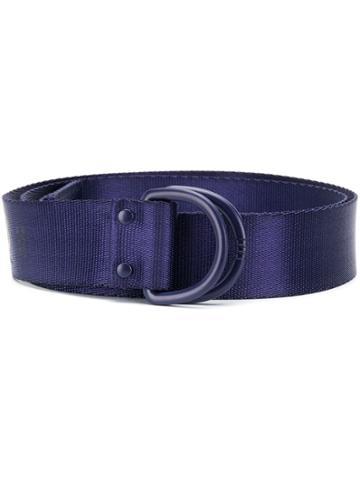 Y-3 Logo Buckle Belt - Blue