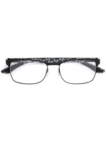 Ray-ban Square Frame Glasses, Black, Carbon