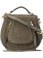 Rebecca Minkoff Small Vanity Saddle Bag - Green