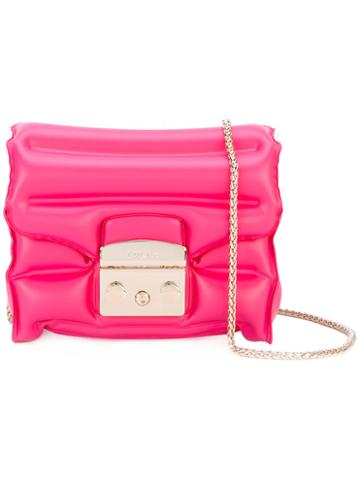 Furla - Metropolis Oxygen Bag - Women - Polyester - One Size, Pink/purple, Polyester