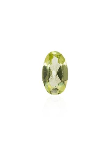 Loquet August Peridot Oval Charm - Green