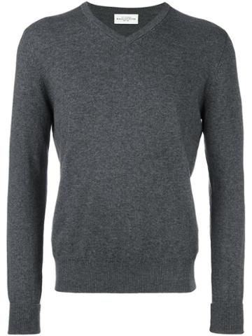 Ballantyne V Neck Jumper
