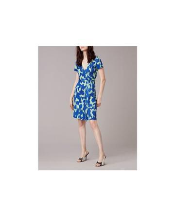 Dvf Diane Von Furstenberg Julian Short-sleeve Wrap Dress - Unavailable