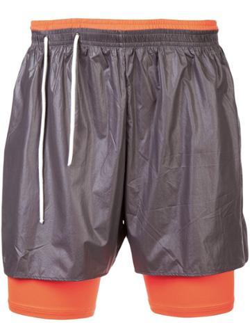 Siki Im Workout Shorts - Grey