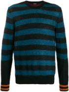 Diesel Striped Pullover - Blue