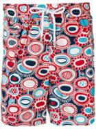 Kiton Floral Print Swimming Shorts - Red