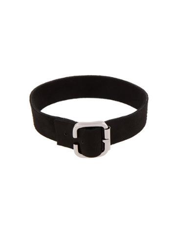 Manokhi Buckled Collar, Women's, Black