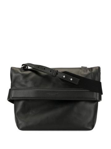 Bottega Veneta Cross Body Messenger Bag - Black