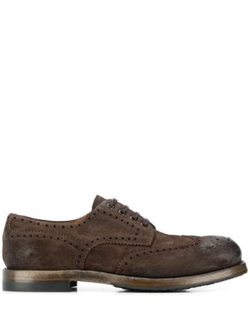 Silvano Sassetti Lace-up Oxford Shoes - Brown