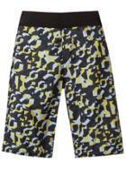 Amir Slama Geometric Print Swim Shorts - Black