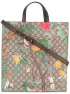 Gucci - Branded Tote Bag - Unisex - Leather - One Size, Brown, Leather