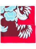 Valentino Valentino Garavani Printed Scarf - Red