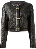 Moschino Vintage Quilted Leather Jacket